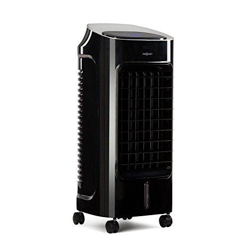 Oneconcept Coolster - Refrigerador de Aire 4 en 1 - Color Negro