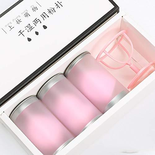 3 Pcs Maquillage Éponge Beauté Puff Air Coussin Maquillage Oeuf Convient Pour Fond De Teint Liquide,Crème Et Poudre,Poudre Mignonne