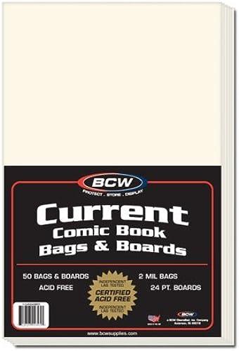 te hará satisfecho BCW Current Comic Book Bags Bags Bags & Boards by BCW  precios mas bajos