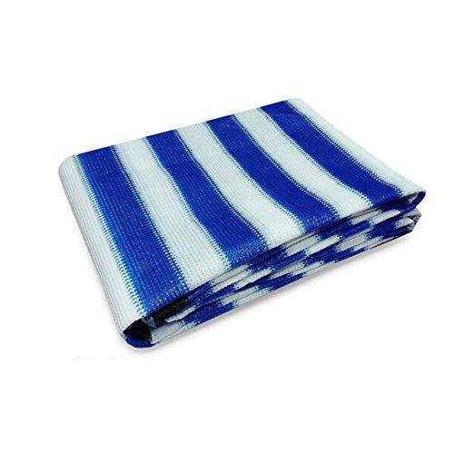 DUO Voiles d'ombrage Bâche d'ombrage de Sun Shade d'ombre de tissu de 90% pour l'installation et les activités extérieures pour plante et fleur (Color : Blue white, Size : 0.6 * 1m)