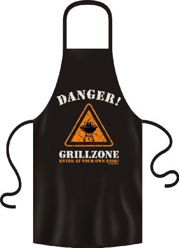 Grillschürze Original Rahmenlos ® Danger Grillzone