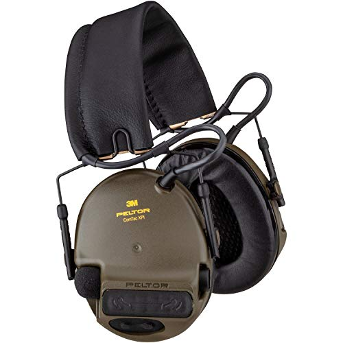 3M™ PELTOR™ ComTac XPI Headset, 28 dB, Green, Headband, MT20H682FB-02