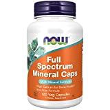 Best Mineral Supplements - NOW Supplements, Full Spectrum Mineral Caps, Multi Mineral Review