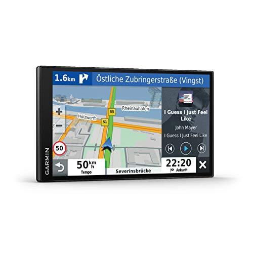 Garmin DriveSmart™ 65 mit Amazon Alexa – Navi mit Sprachassistenz, Sprachsteuerung, 3D-Navigationskarten
