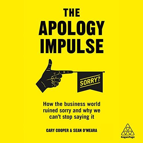 Page de couverture de The Apology Impulse