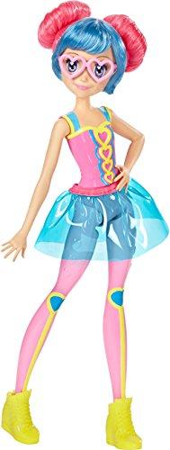 Barbie Mattel DTW06 - Die Videospiel-Heldin Freundin Puppe mit Buntem Haar und Brille, Ankleidepuppen-Zubehör