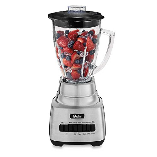 Oster 10-Speed Blender In Brushed Nickel BLSTSS-PC