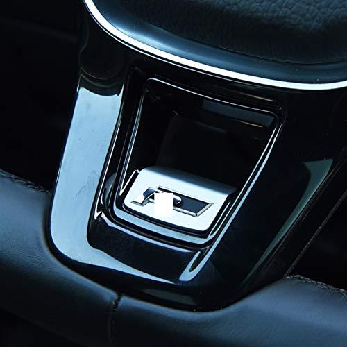 XCVUISDFJK Autoteilecar-Zubehör und Formteile Auto R Line Mark Lenkrad Trim Aufkleber Fit für VW Golf 7 Golf 7,5 Mk7 Arteon Passat B8 Zubehör (Color Name : Black)