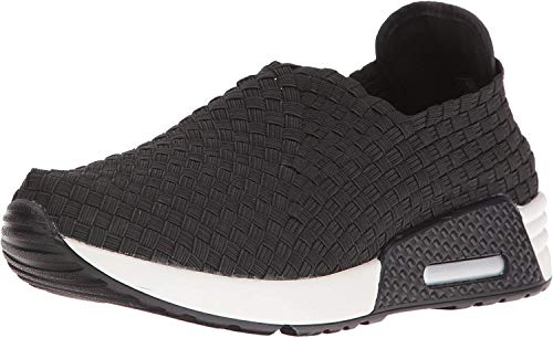 Bernie Mev Womens Best Gem Fashion Sneaker Slip On Loafer Shoe, Jeans, 8.5