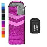 Sleeping Bag – Sleeping Bag for Indoor & Outdoor Use - Great...