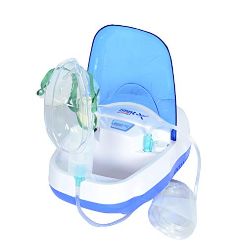 Gent-X Piston Compressure Nebulizer machine with complete kit child and adult mask for baby,kid and adult