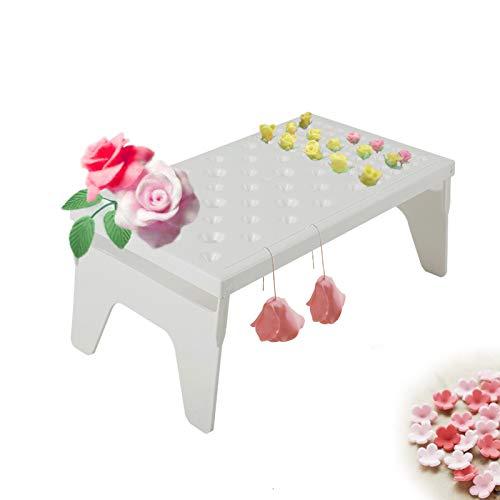 CHENGZI Soporte de secado de flores para pasta de goma para fondant y flores, soporte para hornear, herramientas de bricolaje