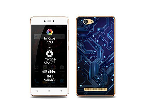 etuo Handyhülle für Allview X3 Soul Lite - Hülle, Silikon, Gummi Schutzhülle Fantastic Case - integrierte Schaltkreise