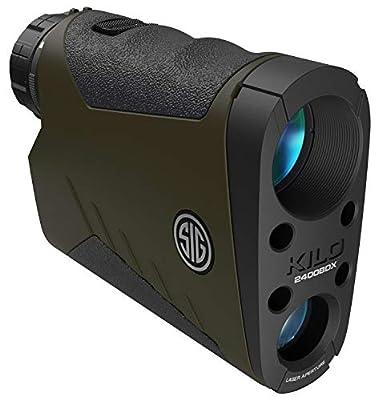 Sig Sauer KILO2400BDX Range Finder BT 7X25 OD Green from SIGO