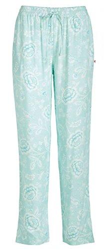 PiP Studio Damen Babbet Schlafhose Pyjamahose Homewear Freizeithose, Farbe:blau, Grösse:S - 36