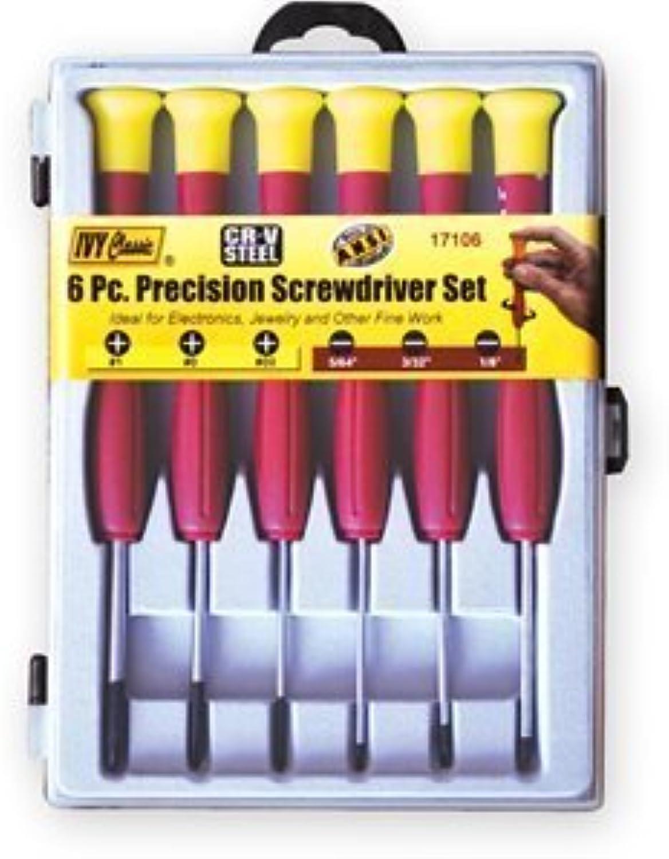 Ivy Classic Precision Screwdriver Set 6 Piece 17106 by Ivy Classic B0186JGPEG | Won hoch geschätzt und weithin vertraut im in- und Ausland vertraut