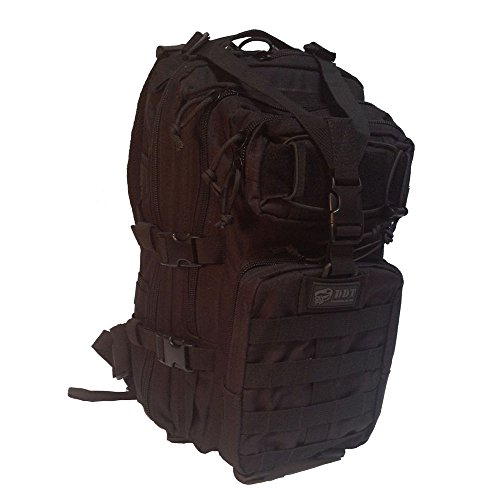 DDT VETERAN OWNED AND OPERATED DDT Anti-Venom 24 Hour Assault Pack, Black