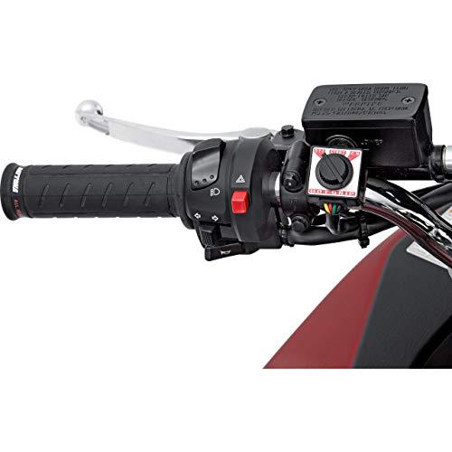 Daytona Motorradgriffe Heizgriffe für 22mm zweistufig, Unisex, Multipurpose, Winter, Gummi, schwarz