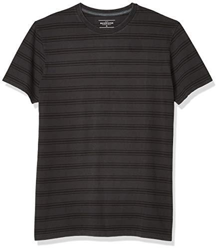 Quiksilver Herren CAPITOA Short Sleeve Knit Tee Button Down Hemd, Tarmac Cap I to a, XX-Large