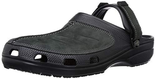 crocs Herren Yukonmesaclog Clogs, Schwarz (Black/Black), 48/49 EU