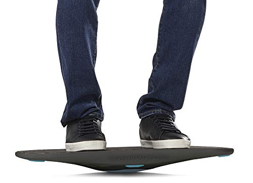 Product Image 2: FluidStance Balance Board for Standing Desk | Wobble Board for Under Desk Exercise(Vapor)