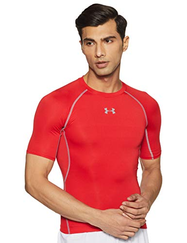 Under Armour Herren, Funktionsshirt, Kurzarm, Rot (600), X-Large