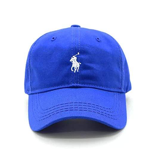 Yifuty Sports Cap Farm Hat Cotton Cap Trucker Cap Cap, Quick Dry Cap Outdoor Casual Paar Cap Sport-Baseball-Cap Adjustable männlich weiblich (blau) (Color : Blau, Größe : Children)