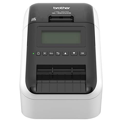 Our #6 Pick is the Brother QL-820NWB Professional, Ultra Flexible Label Printer