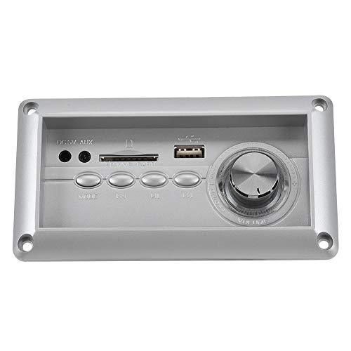 Tablero de decodificación de MP3 portátil liviano Taburete de Audio para sofá 5V Tablero de decodificación de Altavoz Multifuncional Soporte Bluetooth MP3 WMA WAV FLAC