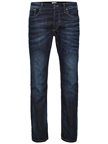 JACK & JONES Herren JJVCClark Original JOS 318 NOOS Jeans, Blue Denim, 33W / 32L