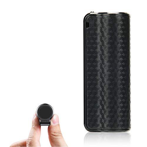 Mini Digitales Diktiergerät | 16GB Tonaufnahmegerät | One-Touch Aufnahme | Eingebauter starker Magnet | MP3 Player | Stimmaktiviert Aufnahme Gerät für Vorträge/Meetings/Interviews