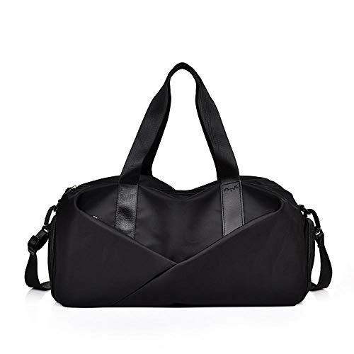 Zwemtas Gym Bag met niet-lekkende waterdichte natte zak, portemonnee en droge fitnesstas