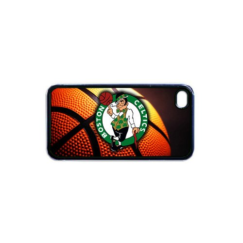Celtics Basketball Apple iPhone 4 or 4S RUBBER cell phone Case / Cover Great Gift Idea Boston