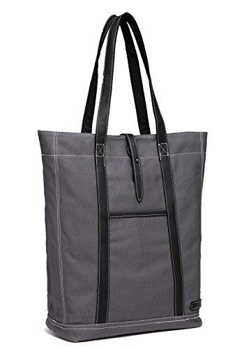 ✔DURABLE&CUSUAL:The vintage canvas tote bag is made of superior quality durable canvas. It is a spacious tote that has been crafted with 18 oz canvas material. Its versatile styling includes leather handles sewn on automated sewing machine for extra ...