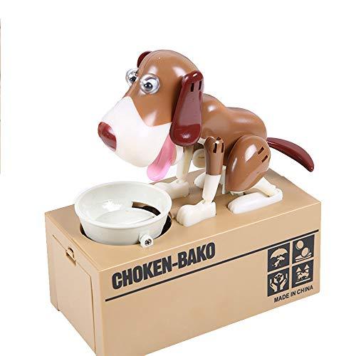 KingSaid Hund Spardose Sparbüchse Elektrische Münzen Box Sparschwein, Kinder