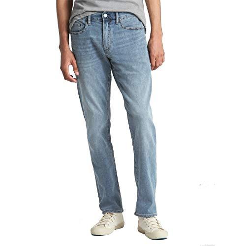 GAP Jeans De Mezclilla para Hombre Corte Slim Fit Modelo 213952 Talla 30X32 Azul.