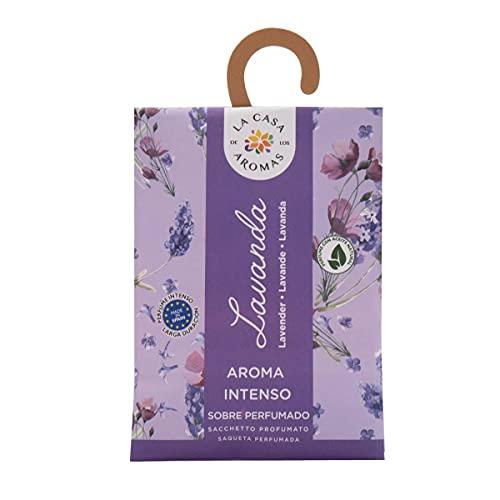 Set de 12 Sobres Perfumados, Bolsitas Aromáticas Olor Lavanda, Saquitos para el Armario, Cajón, Ropa de Bebé, Zapatero, Maleta (Lavanda)
