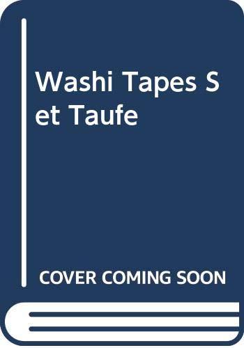 Washi Tapes Set Taufe