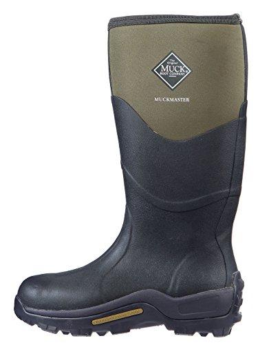 Muck Boots Unisex-Erwachsene Muckmaster High Gummistiefel, Braun (Moss/Moss), 43 EU