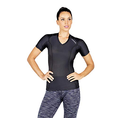 Camiseta de postura para mujer 2.0   Camiseta corrector de postura   Hombro y espalda camiseta soporte de postura   tensión de espalda y alivio del dolor  