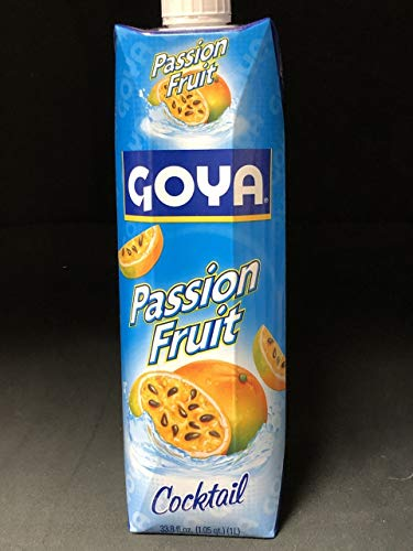 Goya - Passion Fruit Cocktail 33.8 oz (Pack of 2)