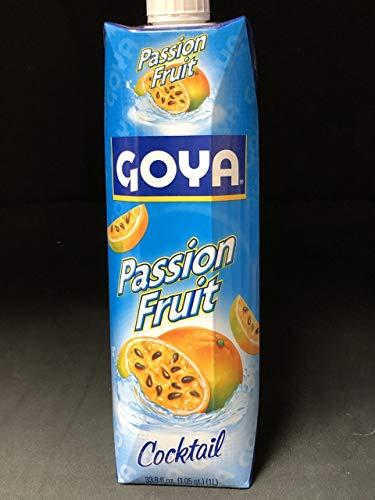 Goya - Passion Fruit Cocktail 33.8 oz (Pack of 2)