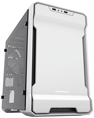 Phanteks Enthoo Evolv ITX Tempered Glass Metal Exterior Clean and Compact Water Cooling Ready -...