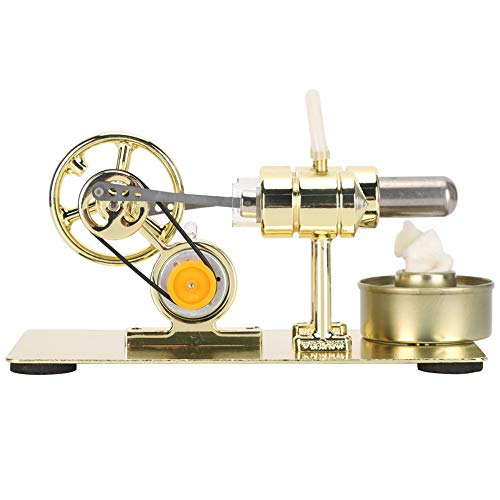 Stirling Engine Motor Model, Science Stirling Engine Kit, Stirling Engine, Physics Engine Model, para niños pequeños