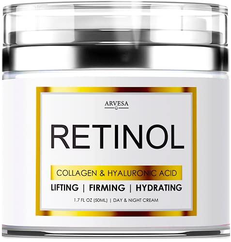 Retinol Cream for Face - Facial Moisturizer with...
