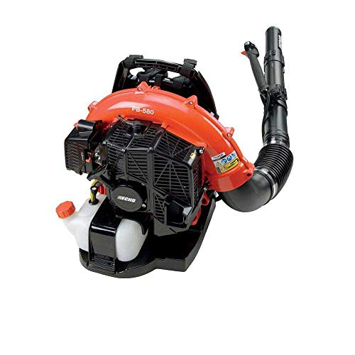 Echo PB-580T 216 MPH 517CFM Gas 2-Stroke Cycle Backpack Leaf Blower with Tube Throttle