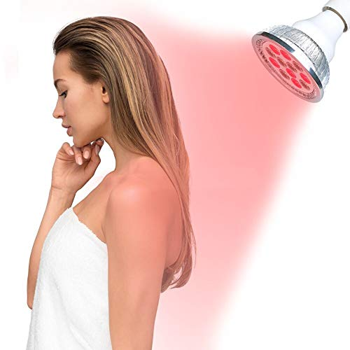 New TOUYR Red Led Light Red 660nm and Near Infrared 880nm Led Light Therapy Bulbs for Skin and Pain ...