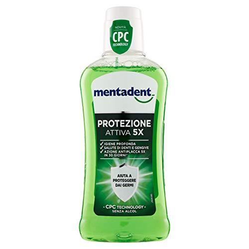 Mentadent Protezione Attiva 5X Collutorio Con Cpc Technology - 400 ml
