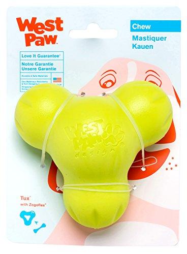 West Paw Design Hundespielzeug Zogoflex Tux, Größe L, apfelgrün