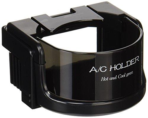星光産業 ドリンクホルダー 車用 A/Cホルダー ブラック EB-48